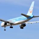 Boeing 757-200 Thomsonfly<br />G-BYAW <br />15-03-2012<br />EPKK