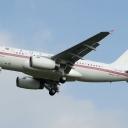 Airbus A-319 Armenia nr. rej. EK-RAOI na sciezce znizania RWY33.