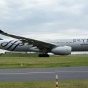 Airbus A-330-300 SKYTEAM-Aeroflot nr. rej. VQ-BCQ na drodze kolowania ,,Lima,, a