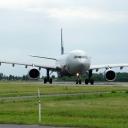 Airbus A-330-300 SKYTEAM-Aeroflot nr. rej. VQ-BCQ na drodze kolowania ,,Lima,, c.
