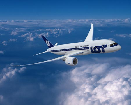 787 Dreamliner LOT  Boeing