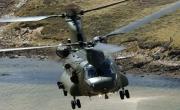 CH-47 Chinook ostrzelany