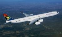 Pasażerowie jak szprotki w A340