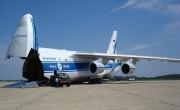 An-124 zabrał gigantyczną pompę do elektrowni Fukushima